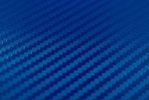 Blue 3D Carbon Fiber Vinyl Film Wraps