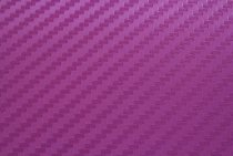 Purple 3D Carbon Fiber Vinyl Film Wraps