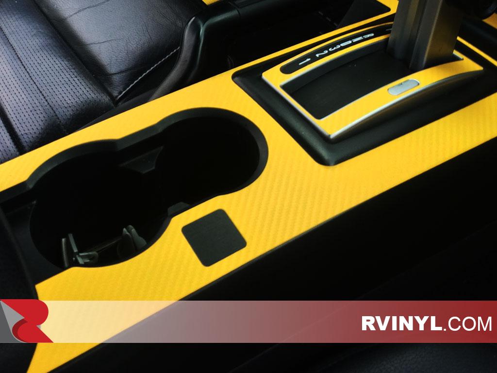 """3D Yellow Carbon Fiber Matte 60/""""x108/"""" In Vinyl Wrap Bubble Free Air Release"""