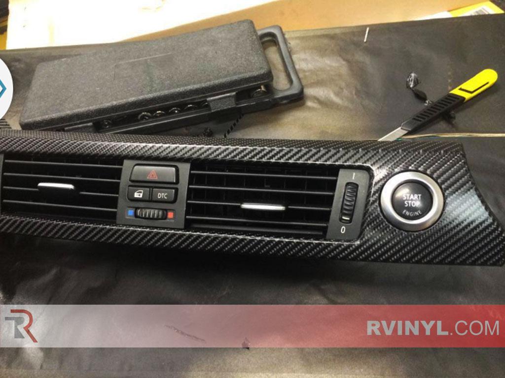 Rwraps 174 Black 4d Carbon Fiber Vinyl Wrap Car Wrap Film