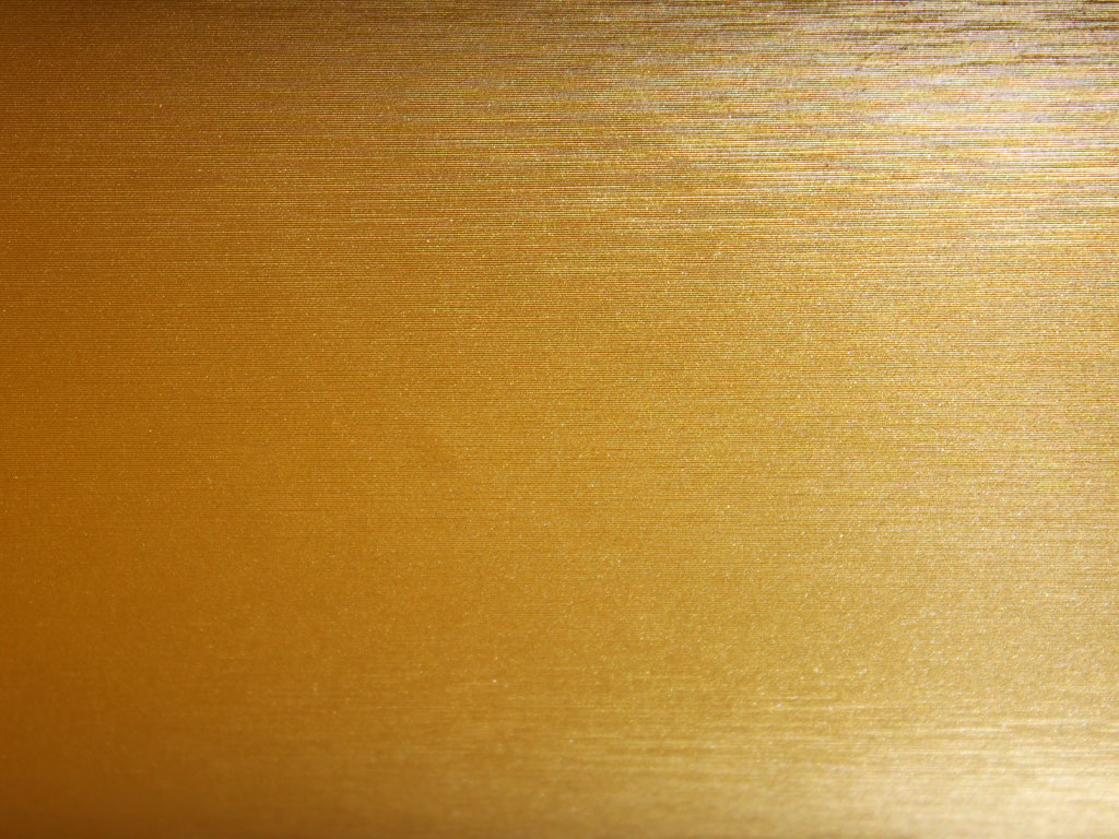 Gold Brushed Aluminum Vinyl Film Wrap
