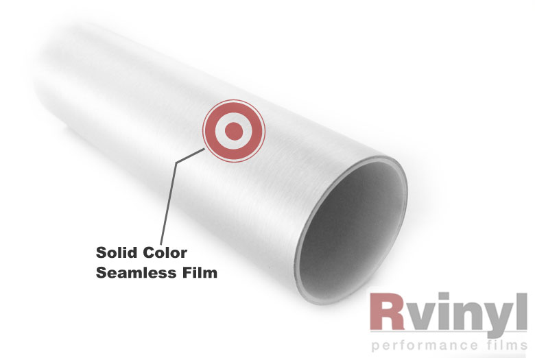 Silver Brushed Aluminum Wrapping Films