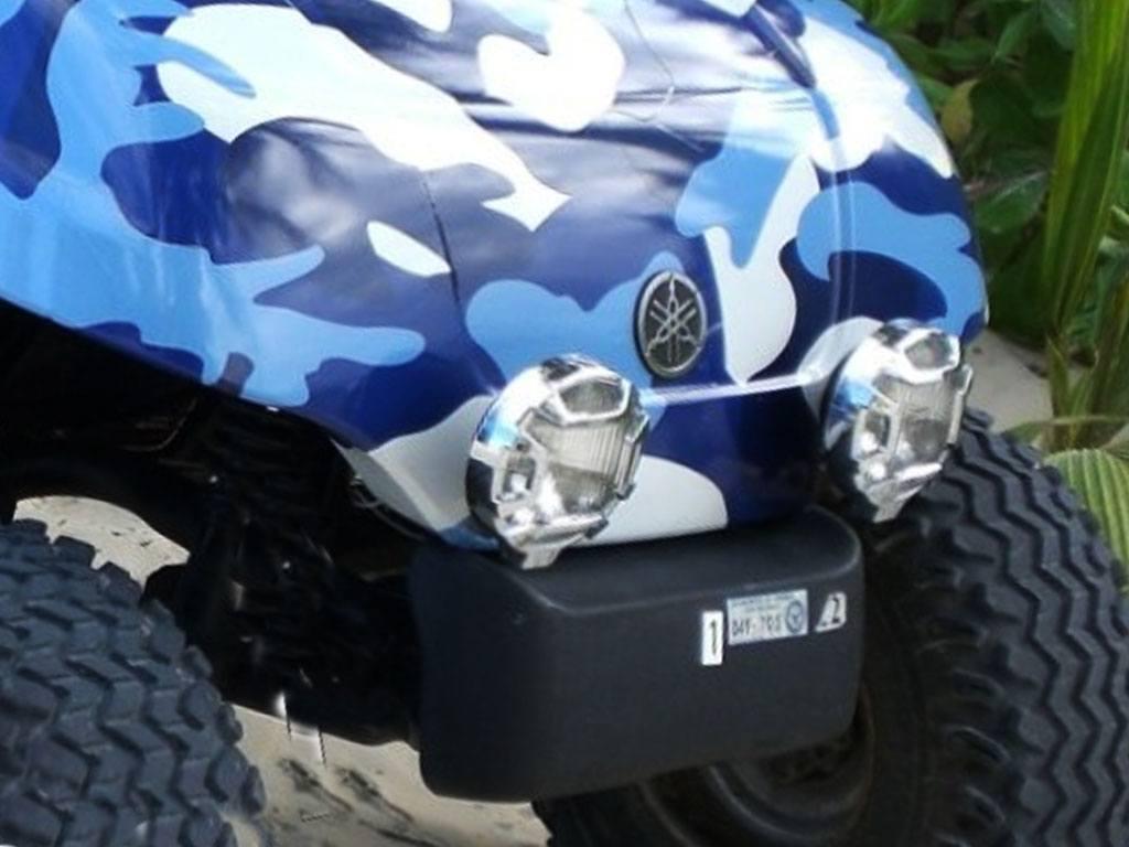 Rwraps Camouflage Vinyl Film Wrap Blue Camouflage