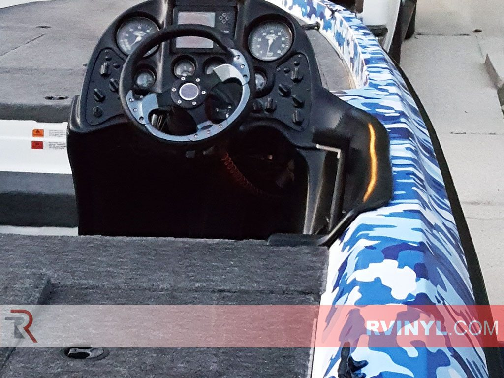 Rwraps Blue Camouflage Vinyl Wrap Camouflage Car Wrap Film
