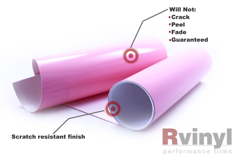Pink Wrapping Films