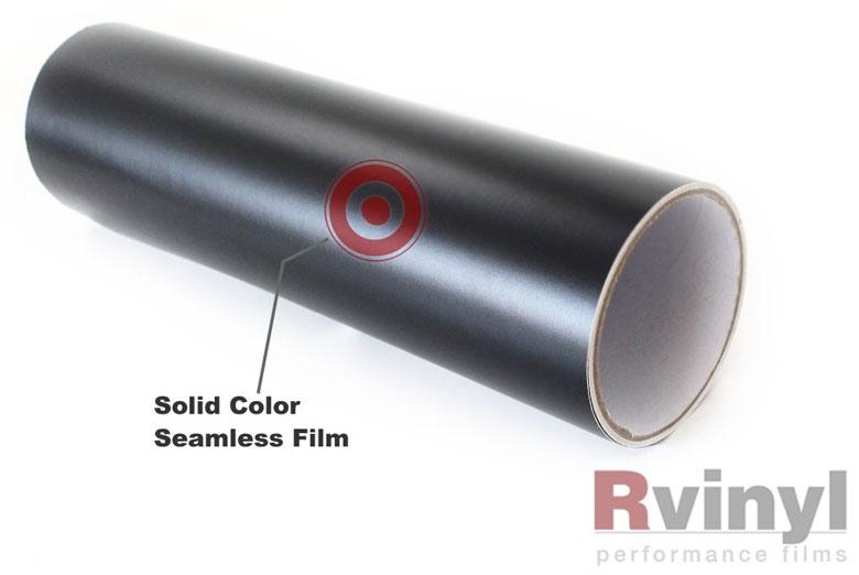 Rwraps Matte Black Vinyl Wrap Car Wrap Film