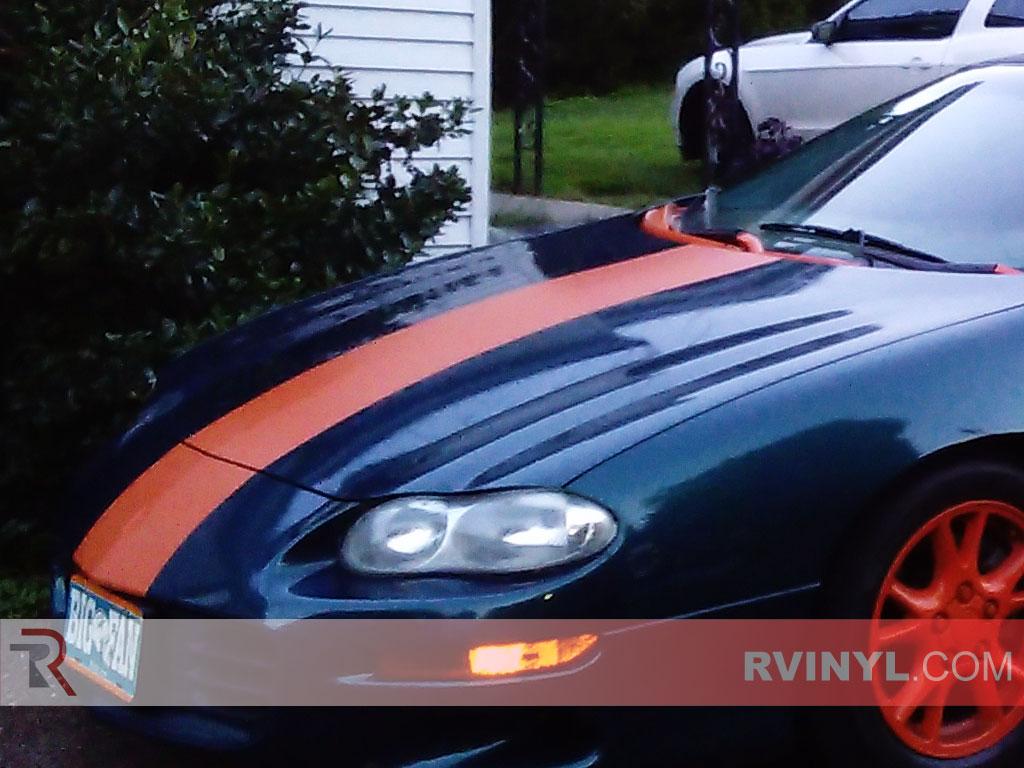 Rwraps™ Orange Matte Vinyl Wrap | Car Wrap Film