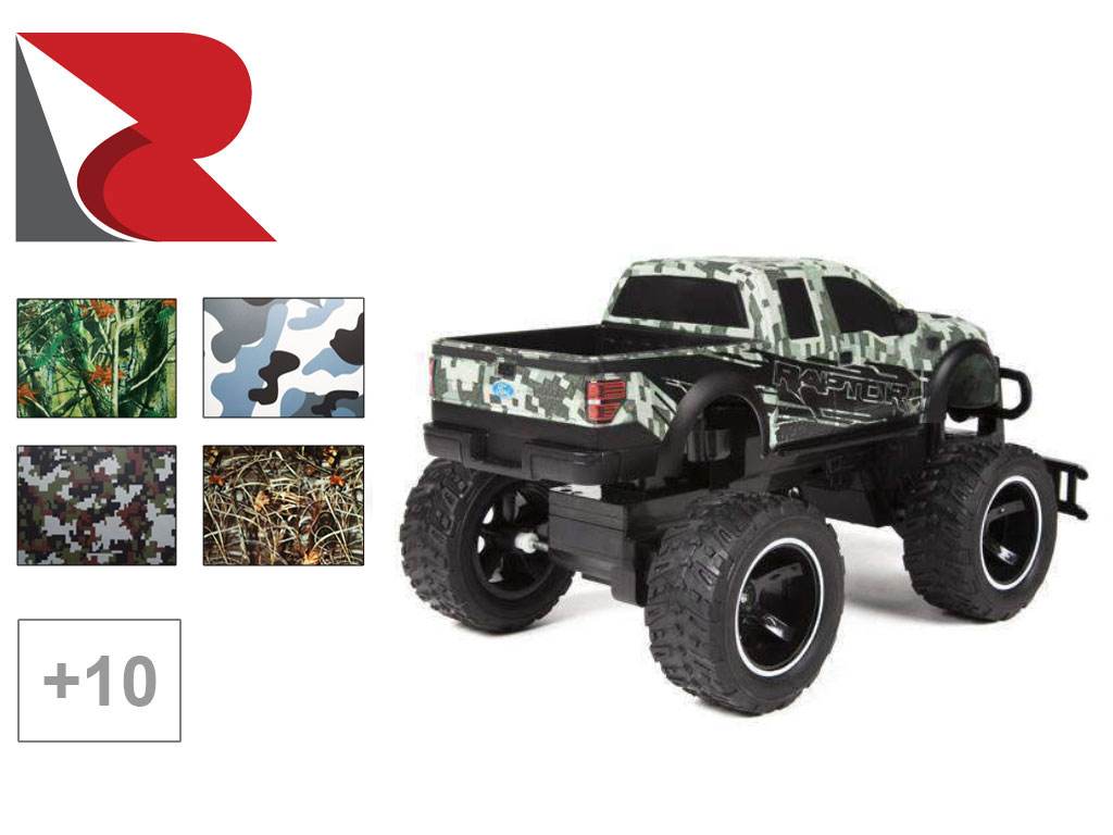 Rwraps™ Camo RC Car Wrap