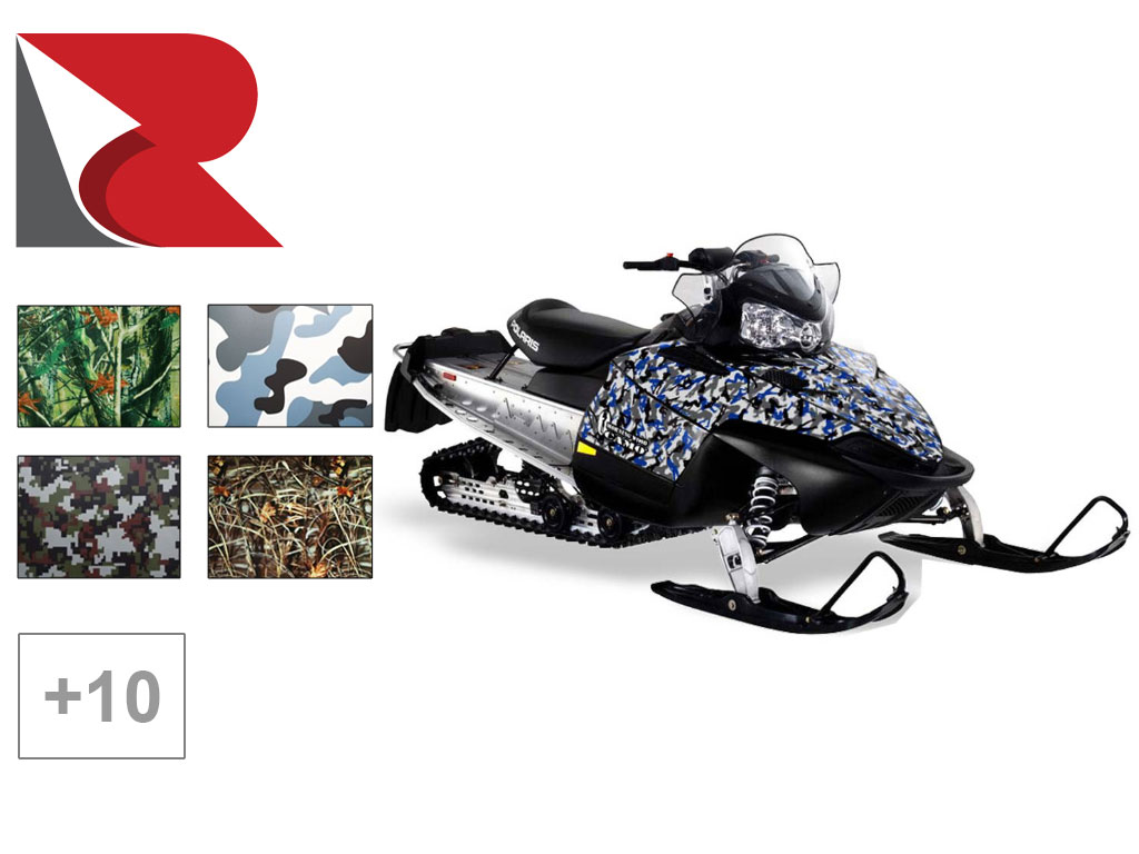 Rwraps™ Camo Snowmobile Wrap