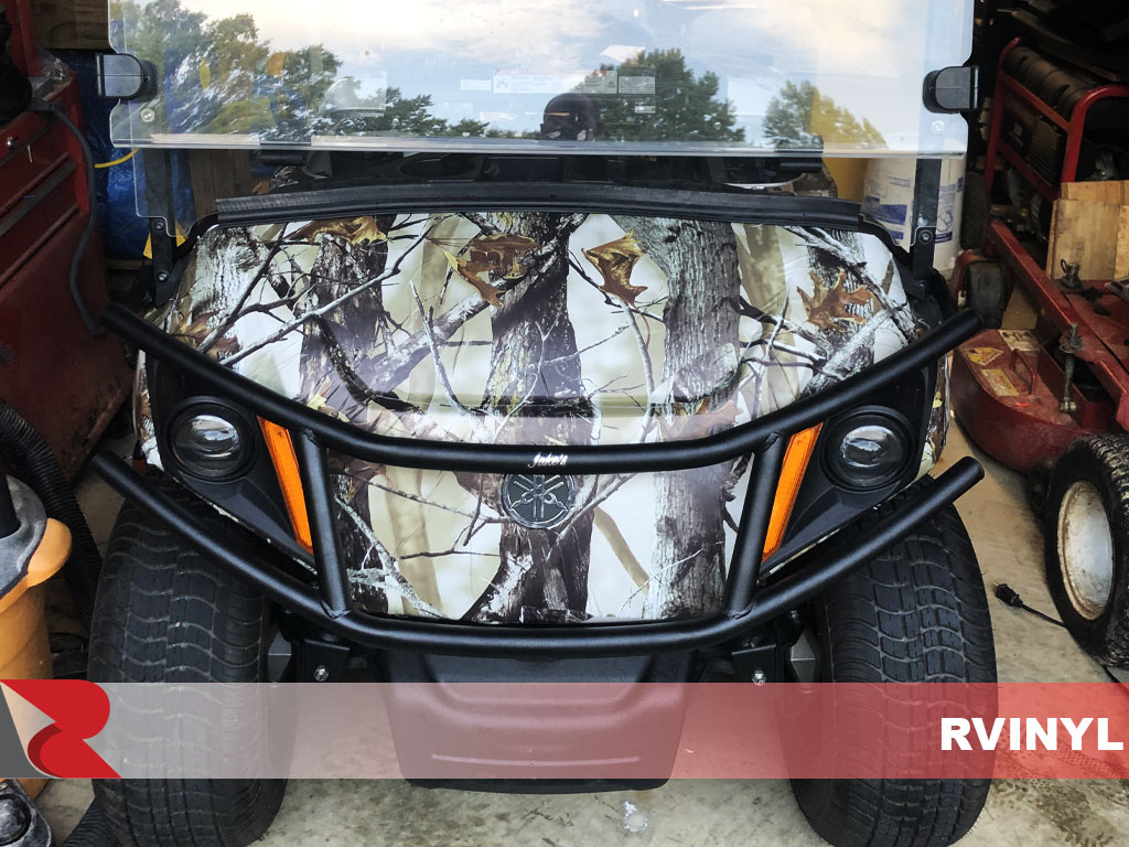 Rwraps™ Camouflage Back Country Front Wrap For Yamaha