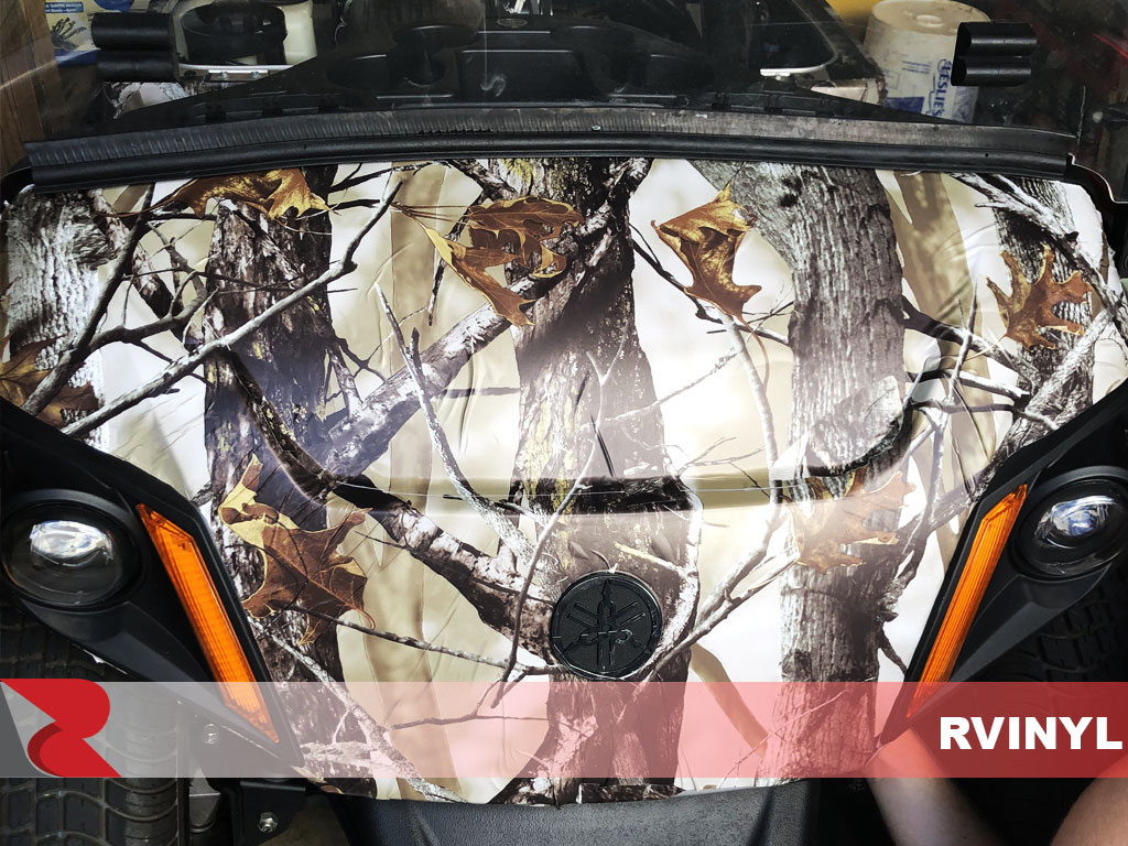 Rwraps™ Camouflage Back Country DIY Wrap Closeup For Yamaha