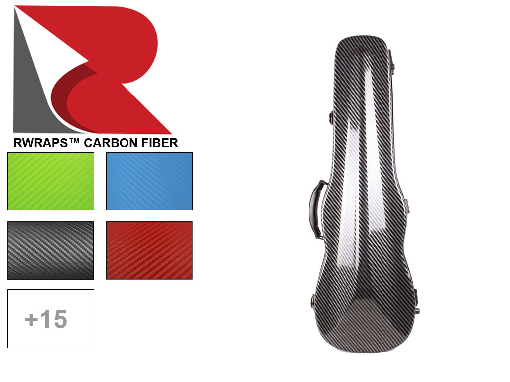 Rwraps™ Carbon Fiber Violin Case Wraps