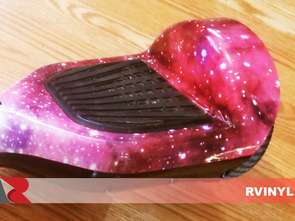 Rwraps Hoverboard with Orions Belt wrap