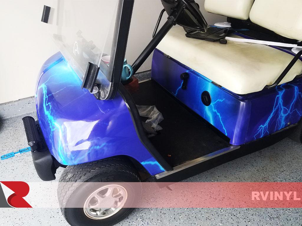 Rwraps™ Blue Lightning Vinyl Wrap | Car Wrap Film on black cart, masking cart, crafting cart, film cart, red cart, delivery cart, wire cart, art cart, diy cart, moving cart, mailing cart, cardboard cart, banding cart, strapping cart, handmade cart, box cart, bag cart, travel cart, nan cart, fabric cart,