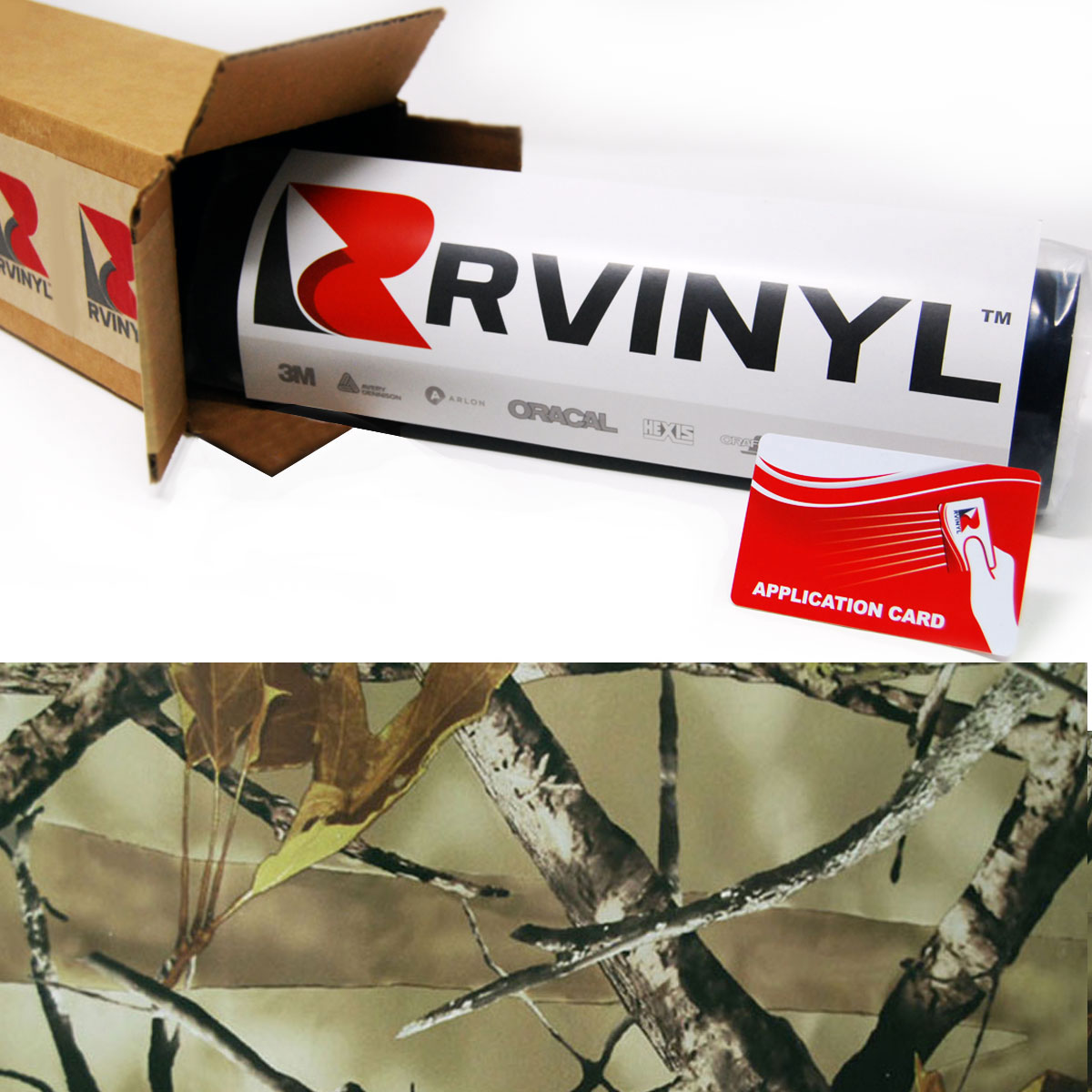 Back Country Camouflage Vinyl Film Wrap
