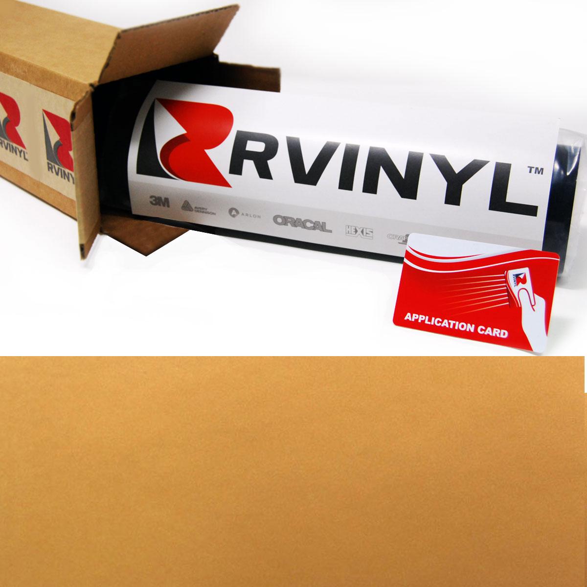 3M 180mC Controltac Satin Gold 131 Vinyl Film Wrap Sign Craft Decal Sheet Roll