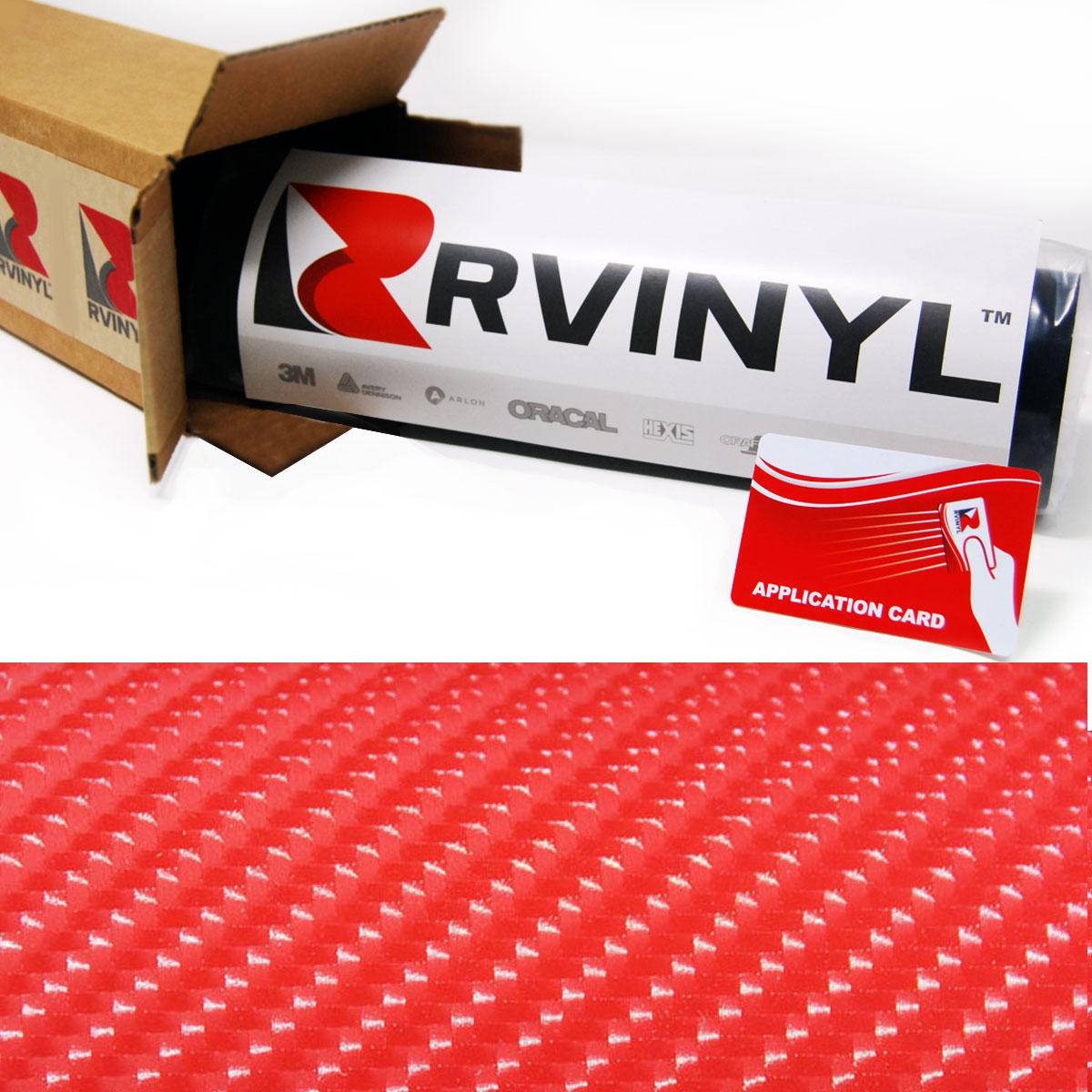 "3D Carbon Fiber Vynil 12/"" x 60/"" Roll Car Wrap Bubble Free Twill Weave Black Film"
