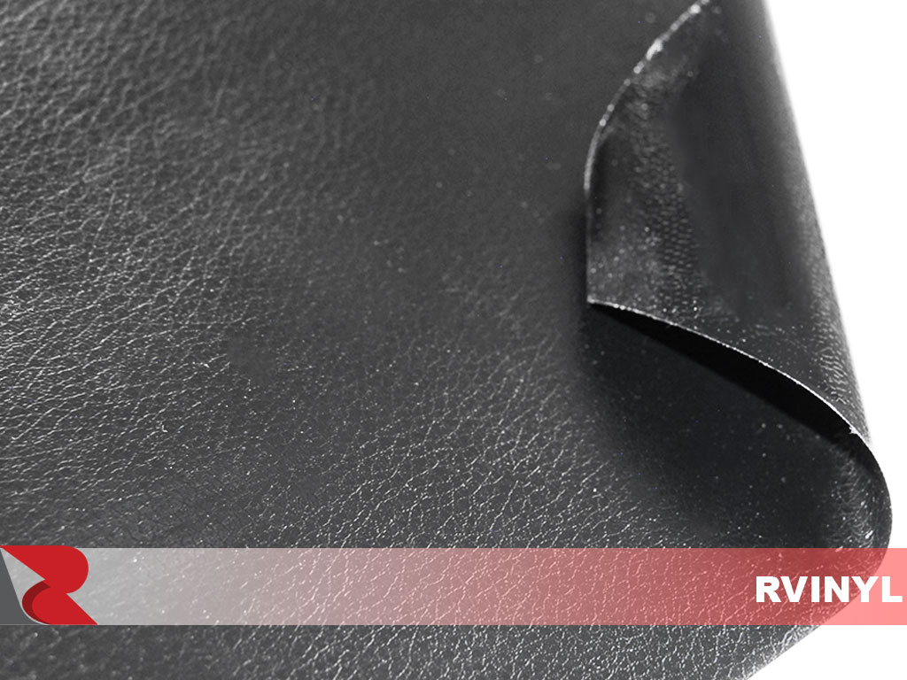 Rvinyl Black Leather Vinyl
