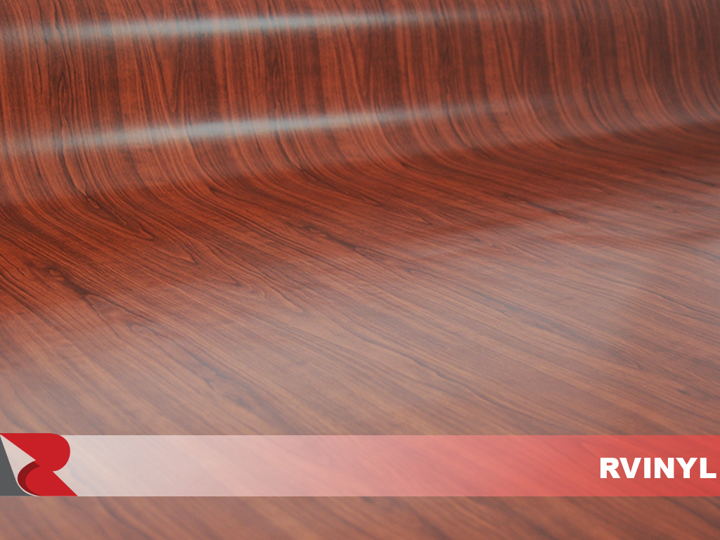 Rvinyl Cocoa Maple Wood Grain Vinyl
