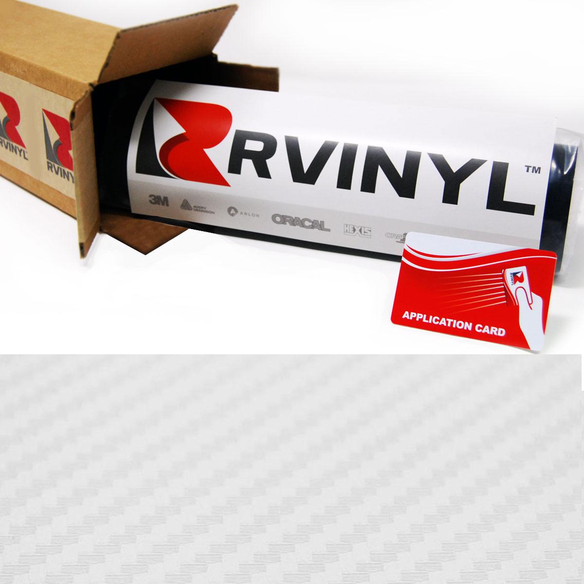 "*48/""x60/"" 3D Matte Clear Transparent Carbon Fiber Textured Car Vinyl Wrap Sticker"