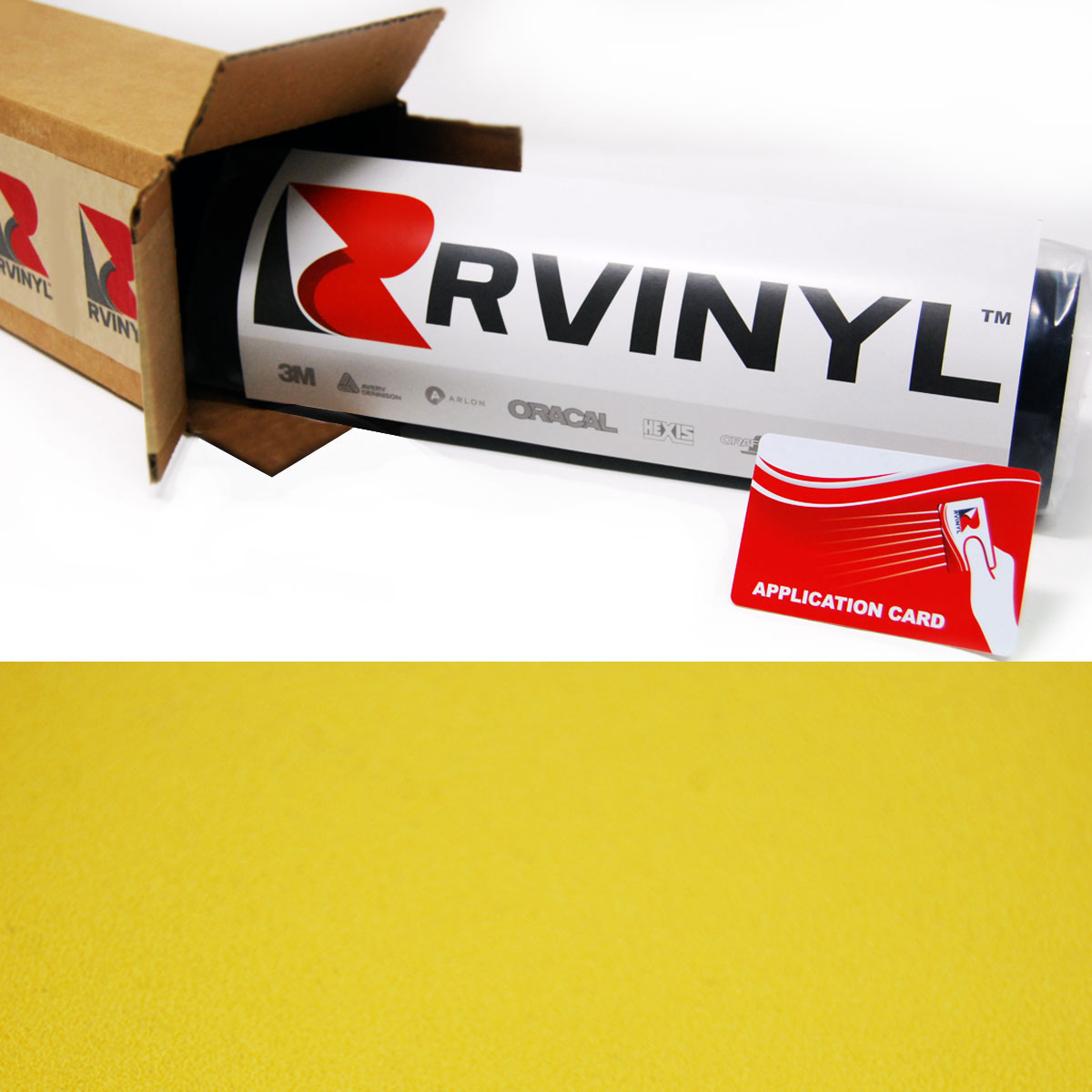 Yellow Velvet Car Wraps