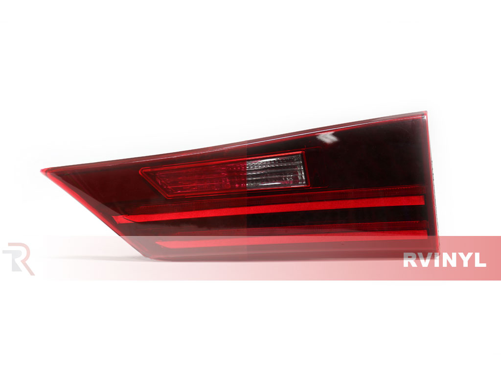 Red Smoke Tail Light Tint Example