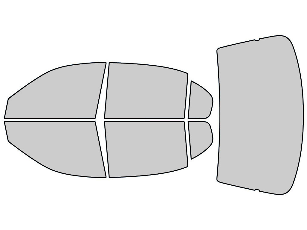 Chevrolet Malibu 1997-2003 Window Tint