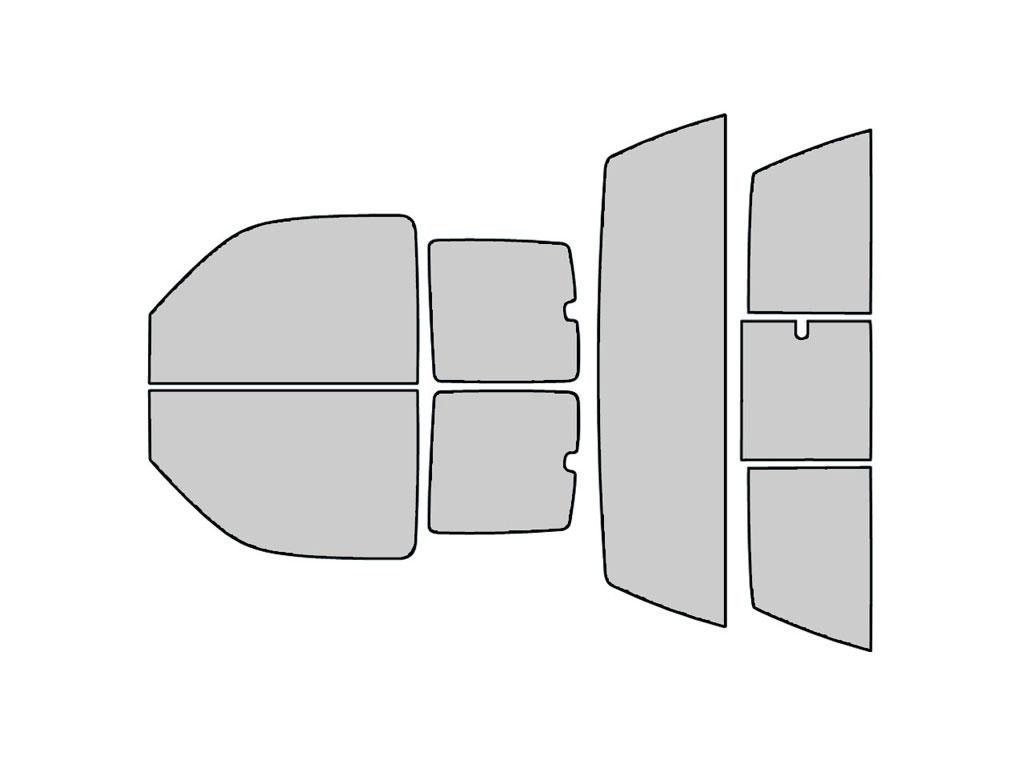 - Back Kit Rtint Window Tint Kit for Chevrolet Silverado 2001-2006 5/% 4 Door