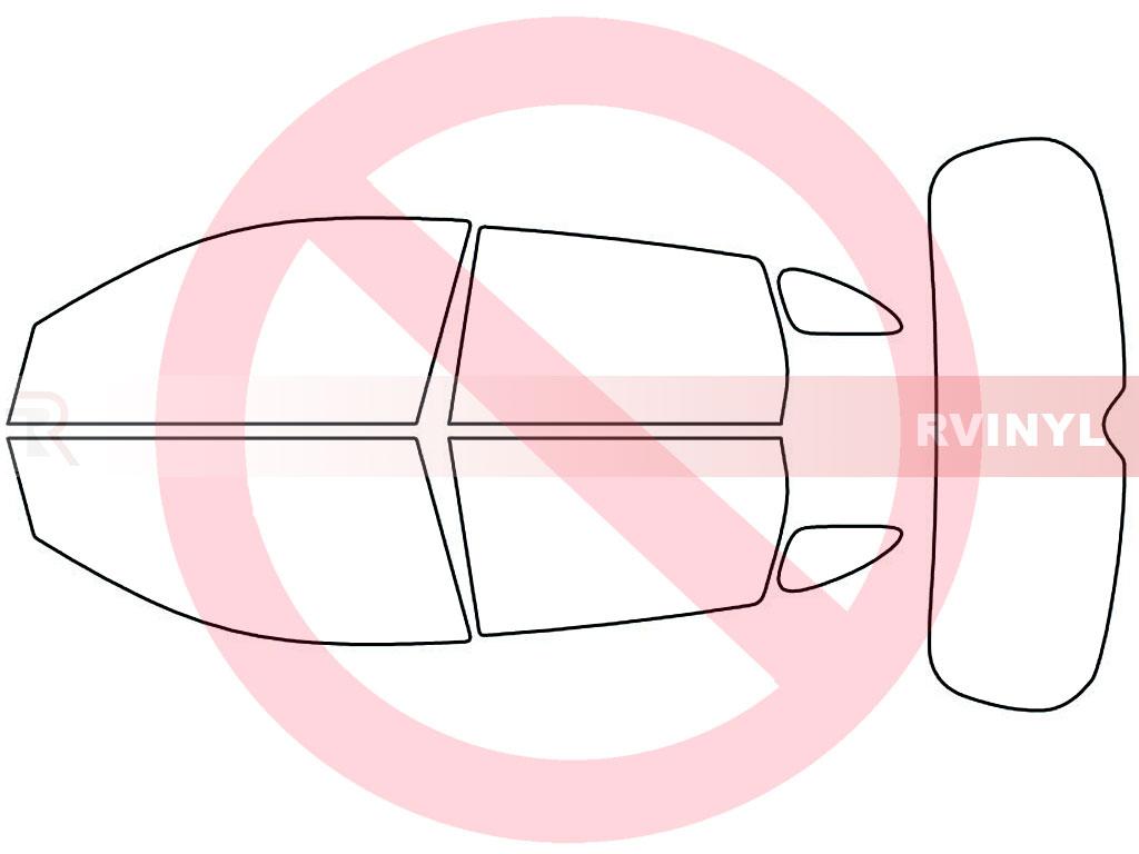 Rtint Mitsubishi Outlander Sport 2011 2018 Window Tint Kit Diy Engine Diagram No
