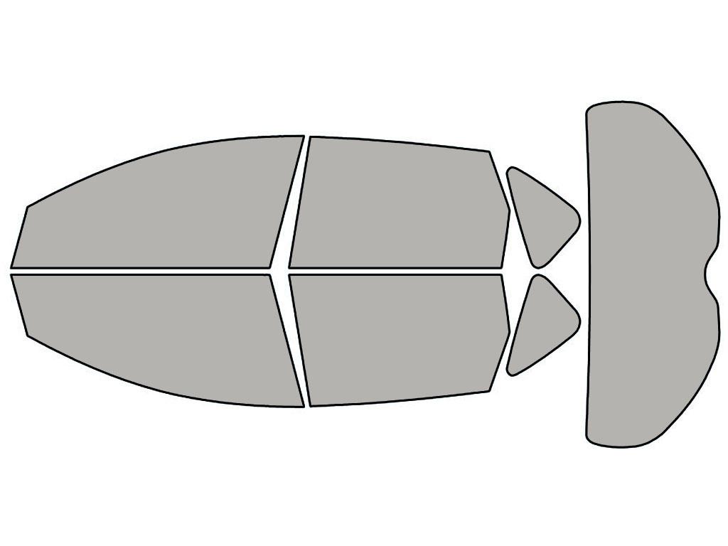Any Tint Shade VLT  Auto PreCut Window Film for Nissan Murano 2009-2012