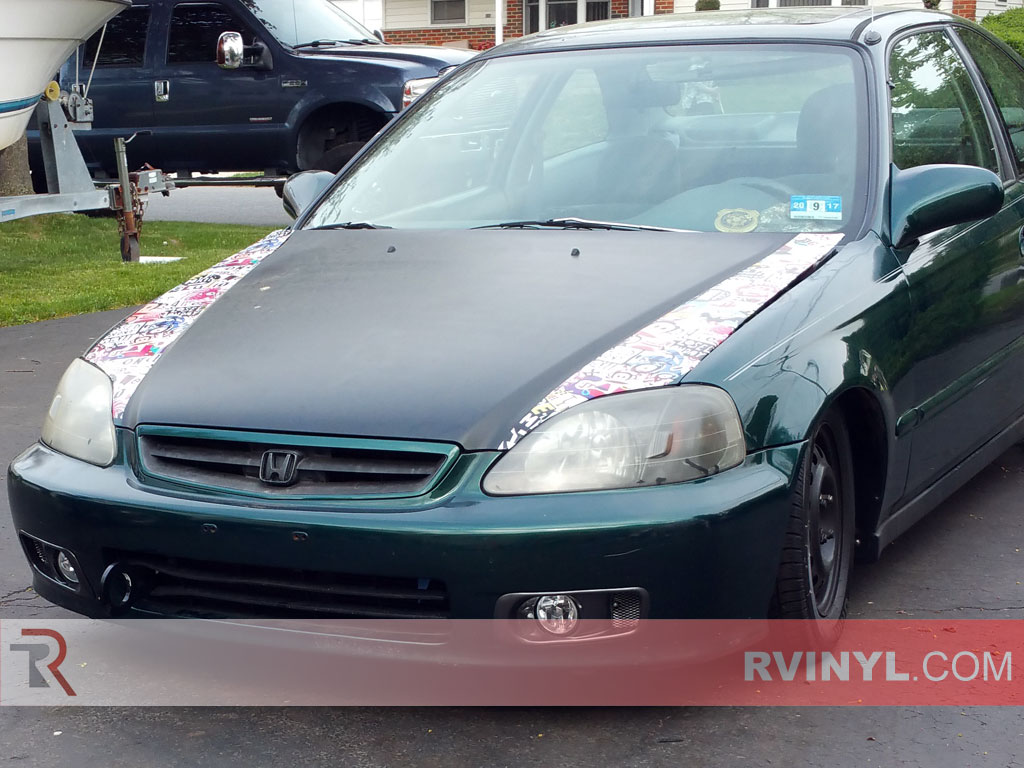 2000 Civic Coupe - Sticker Bomb Rwraps®