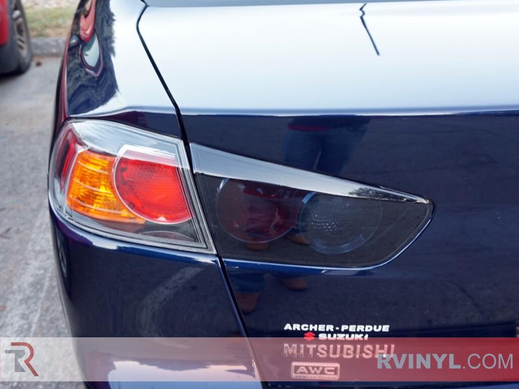 2015 Mistusbishi Lancer Evo Taillight Tint