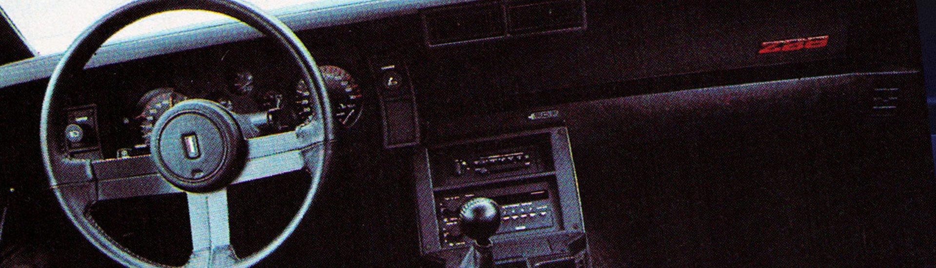 1983 Chevrolet Camaro Dash Kits