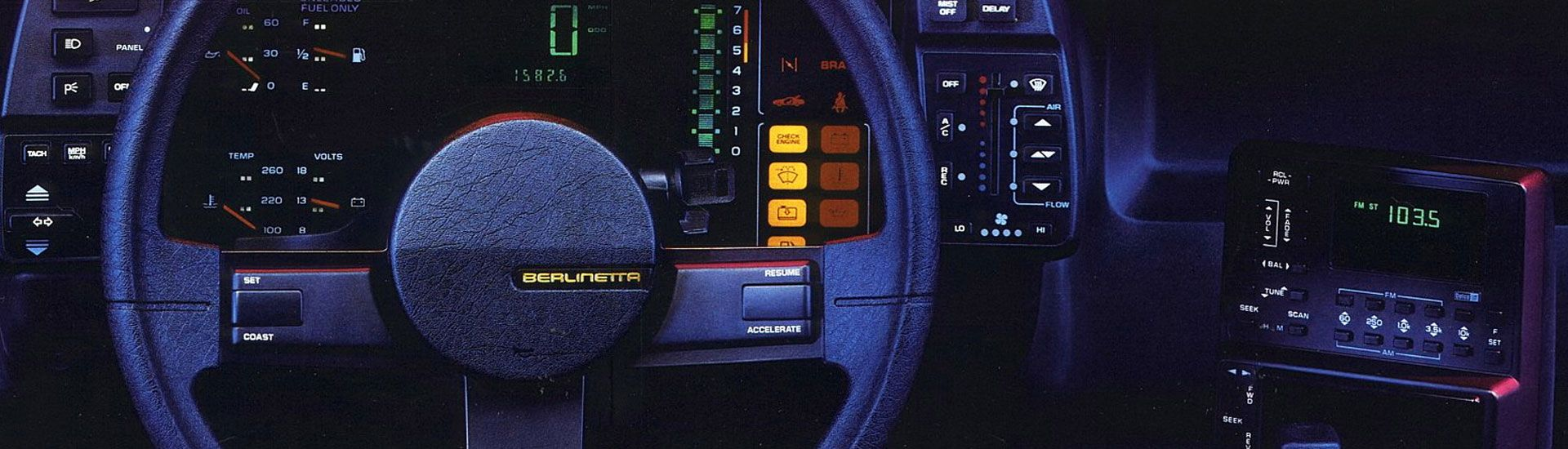 1984 Chevrolet Camaro Dash Kits