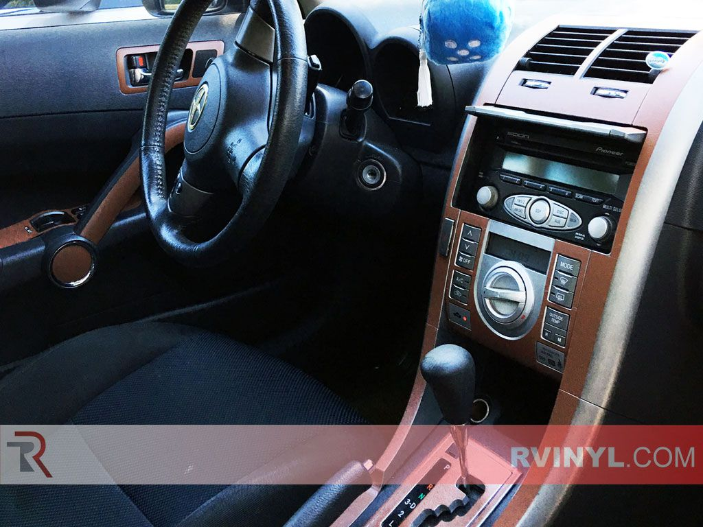 2007 Scion tC Brown Leather Dash Kit | Textured Finishes
