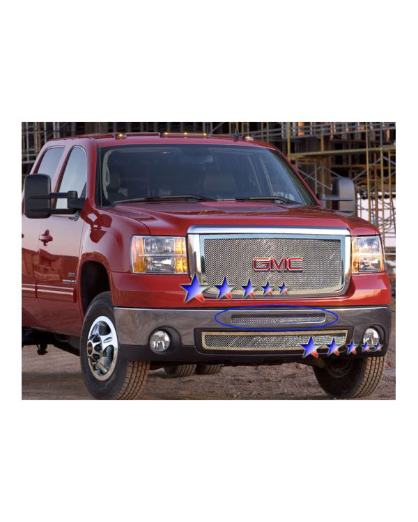 APS® Air Dam Chrome Mesh Grille