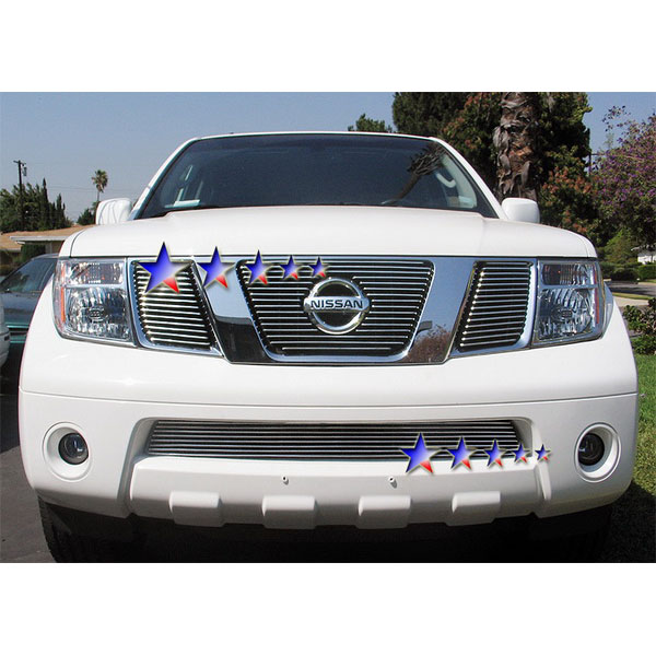2005 Nissan Frontier Wheels: APS® Nissan Frontier 2005-2012 Lower Stainless Steel Grille