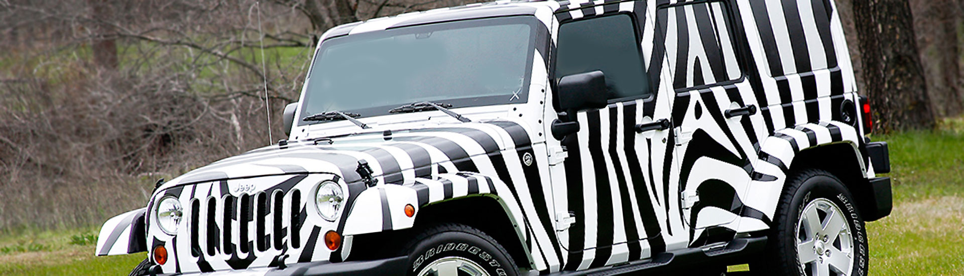 Animal Print Car Wrap Films
