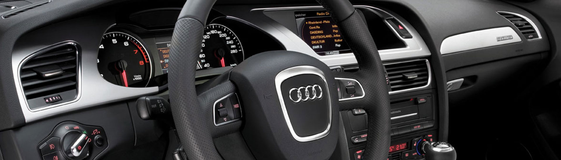 Audi A4 Custom Dash Kits