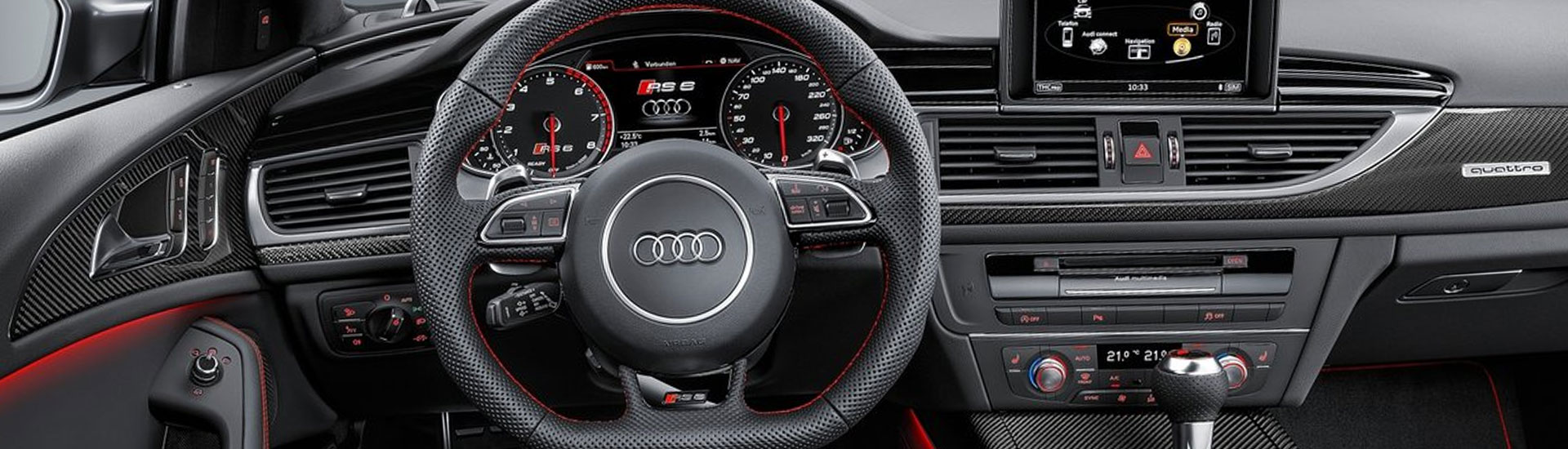 Audi RS6 Custom Dash Kits