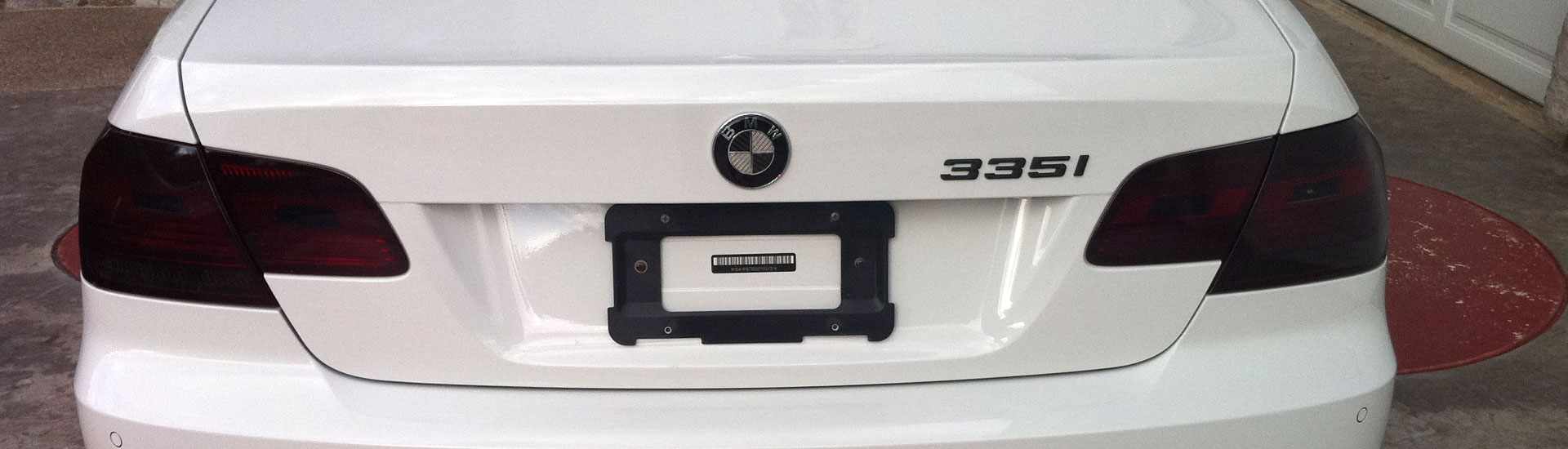 BMW  Tail Light Tint Covers