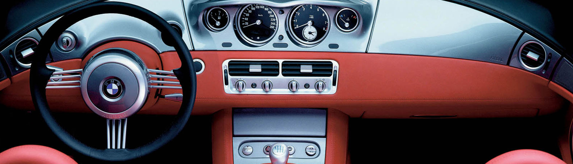 BMW Z8 Custom Dash Kits