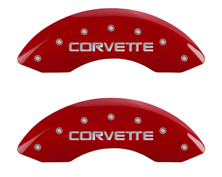 1986 Chevrolet Corvette MGP Caliper Brake Covers