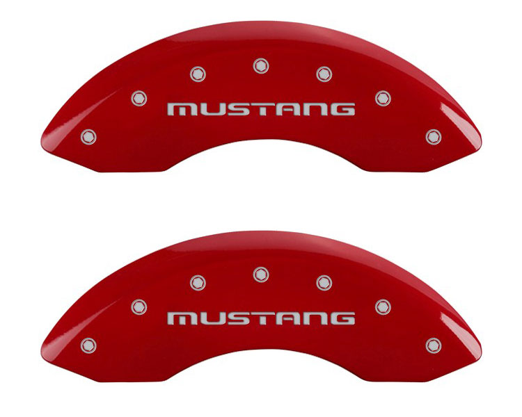 1987 Ford Mustang MGP Caliper Brake Covers