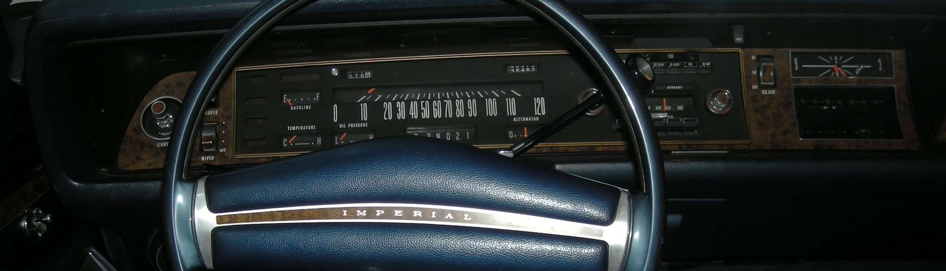 Chrysler Imperial Custom Dash Kits