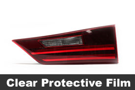Clear Tail Light Protection Film
