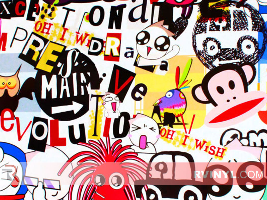 Sticker Bomb (Harajuku)