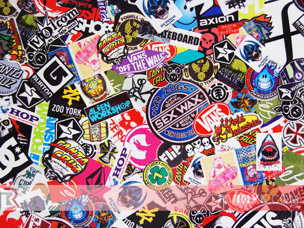 Sticker Bomb (Skate & Surf)
