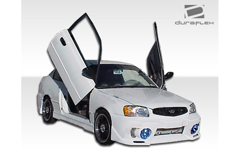 2001 Hyundai Accent Duraflex Evo 5 Body Kit