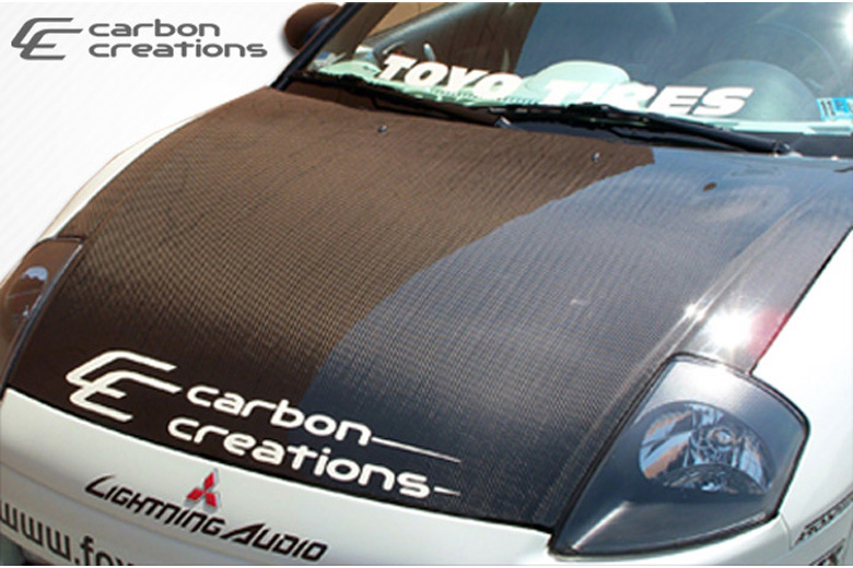 2001 Mitsubishi Eclipse Carbon Creations Hood